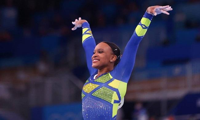 Tóquio: Rebeca Andrade conquista medalha de prata na ginástica artística