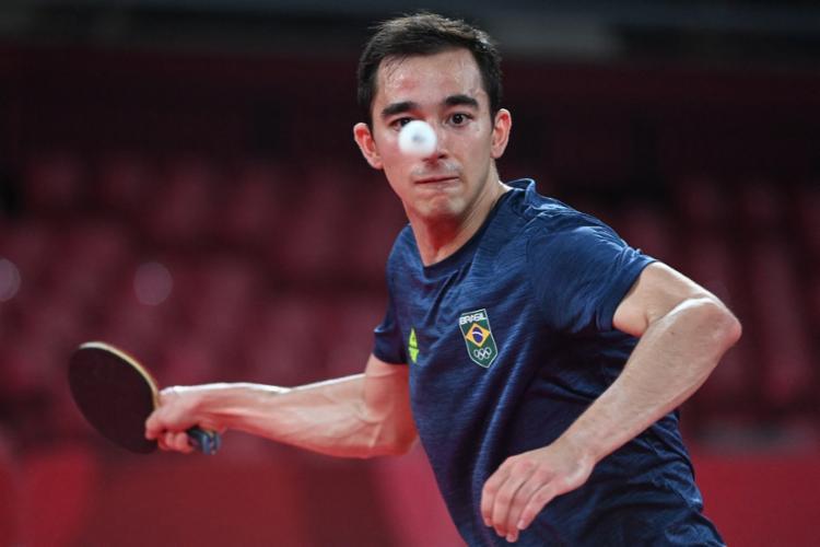 Tênis de mesa: Brasil vence Sérvia e vai às quartas do masculino por equipes