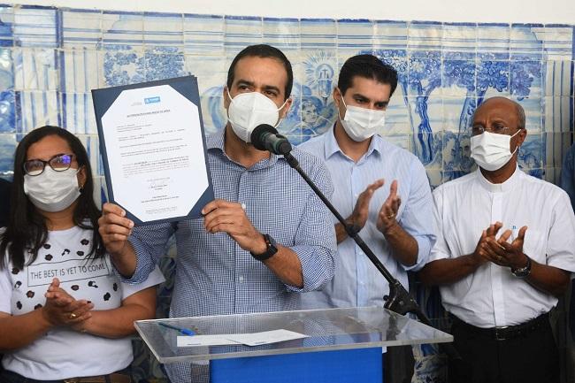 Prefeitura de Salvador inicia novas restaurações na Basílica do Bonfim
