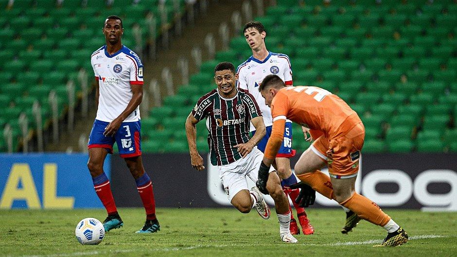 Série A: Novo técnico do Bahia estreia com derrota por 2 a 0 para o Fluminense