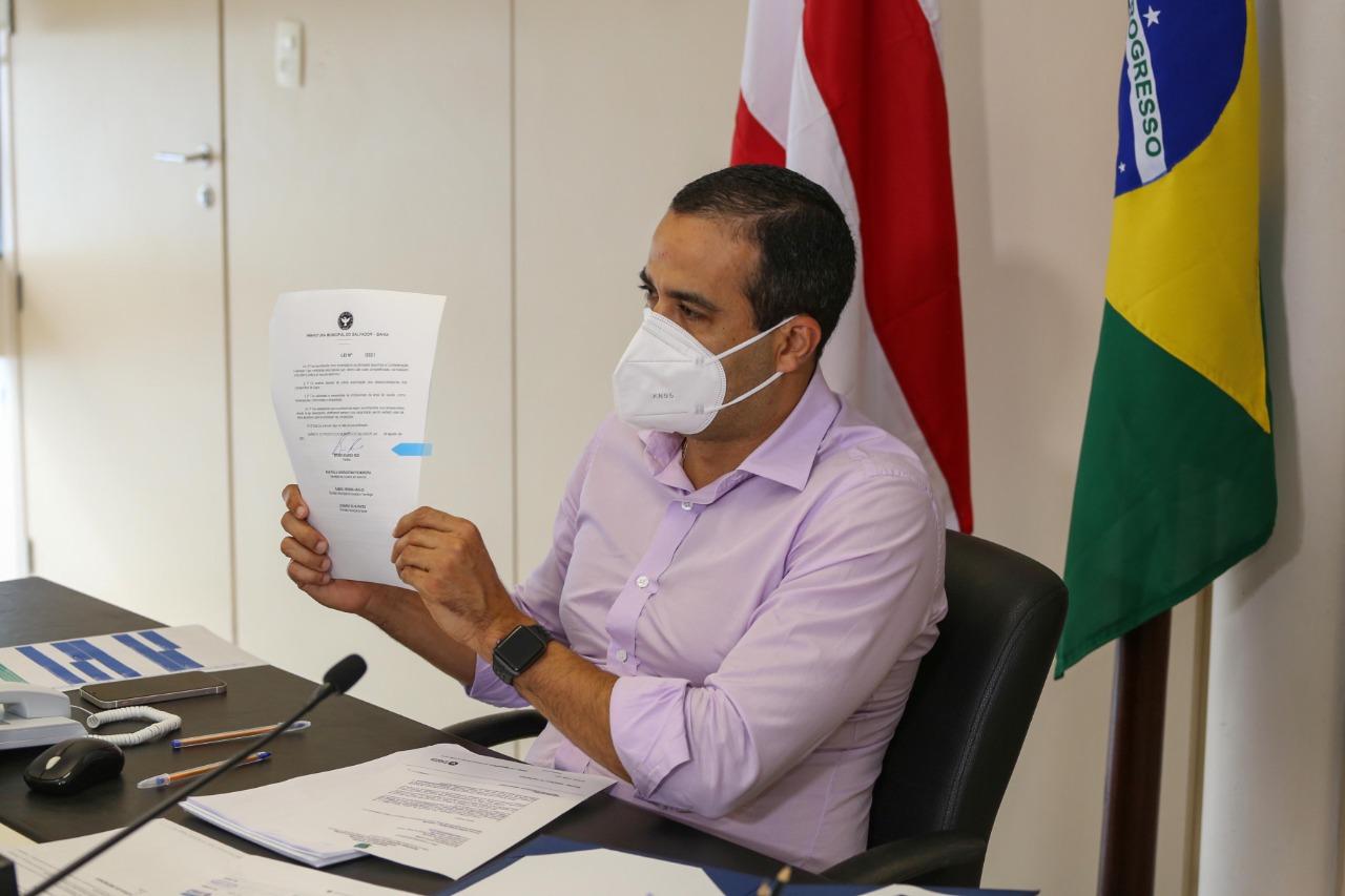 Bruno Reis sanciona lei que regulamenta esportes eletrônicos em Salvador