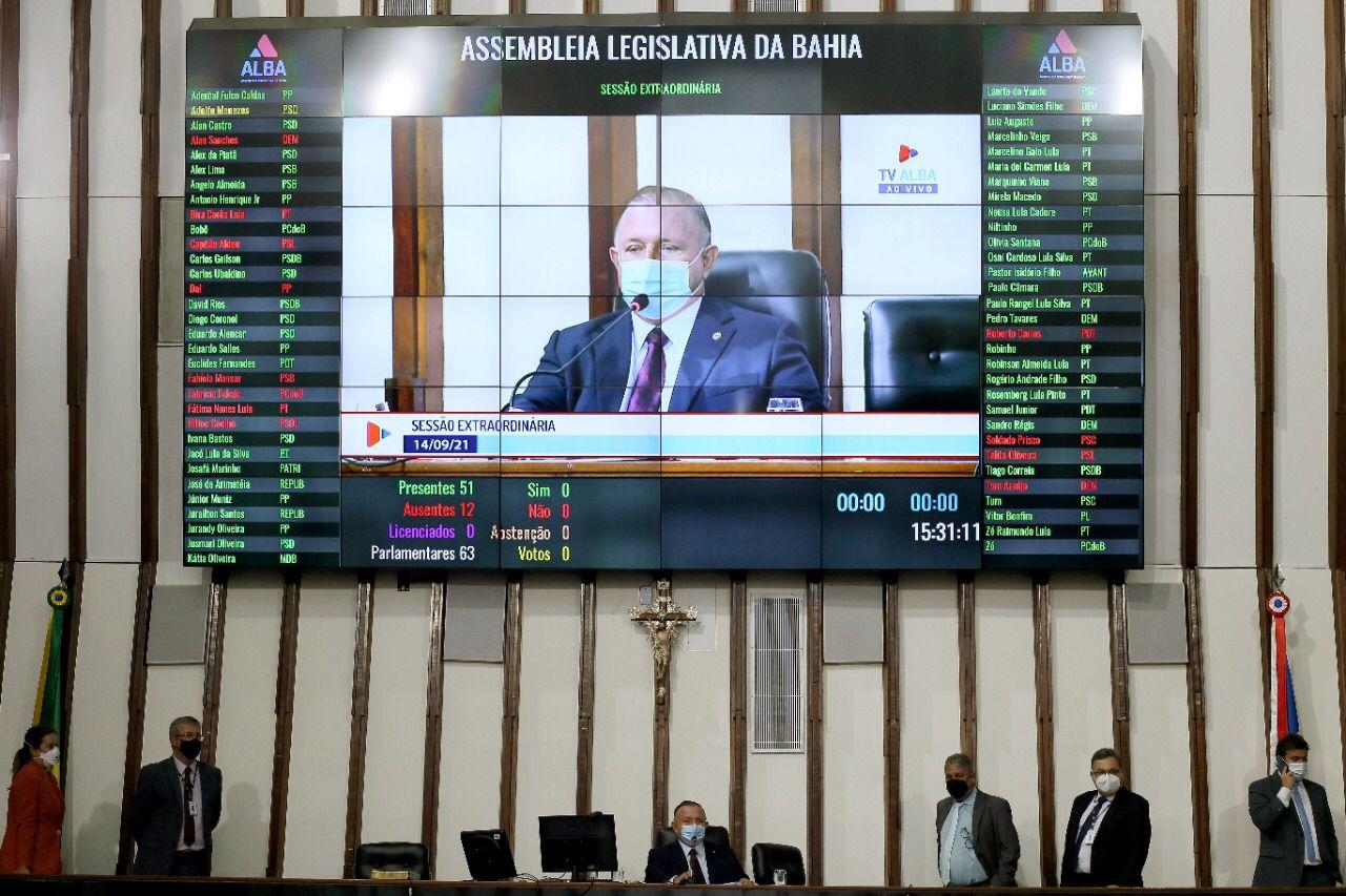 ALBA aprova indicação de Nelson Pelegrino para o Tribunal de Contas dos Municípios