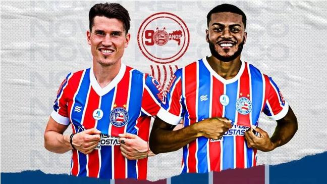 Bahia oficializa contratações dos atacantes Isnaldo e Cirino