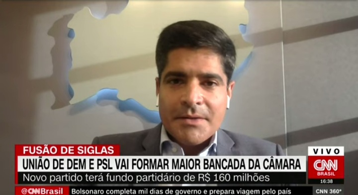 Fusão DEM-PSL quer lançar um candidato à Presidência da República, diz ACM Neto