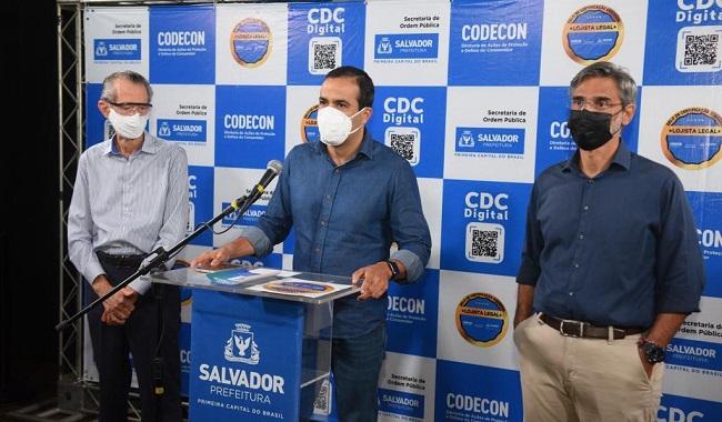 Bruno Reis apresenta Carteira de Vacinação Digital para a população de Salvador