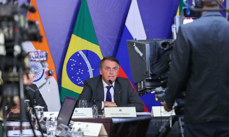 Nos BRICS, Bolsonaro defende modernização da OMC e das regras de subsídios