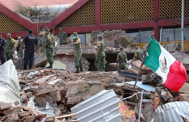 Terremoto de magnitude 7,0 atinge o México