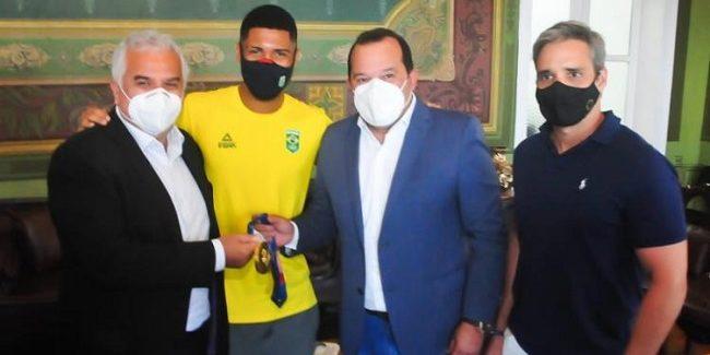 Hebert Conceição vai receber a Medalha Thomé de Souza da Câmara de Salvador