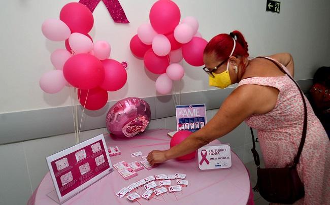 Hospital Municipal amplia oferta de exames às mulheres no Outubro Rosa