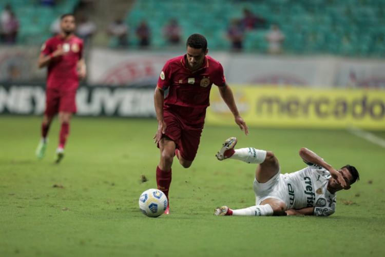 Série A: Bahia e Palmeiras ficam no 0 a 0 na Fonte Nova