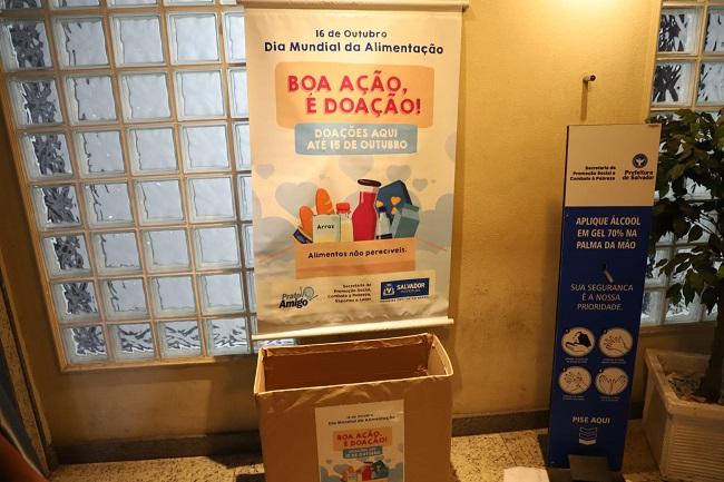 Sempre lança campanha de arrecadação de alimentos para instituições de Salvador