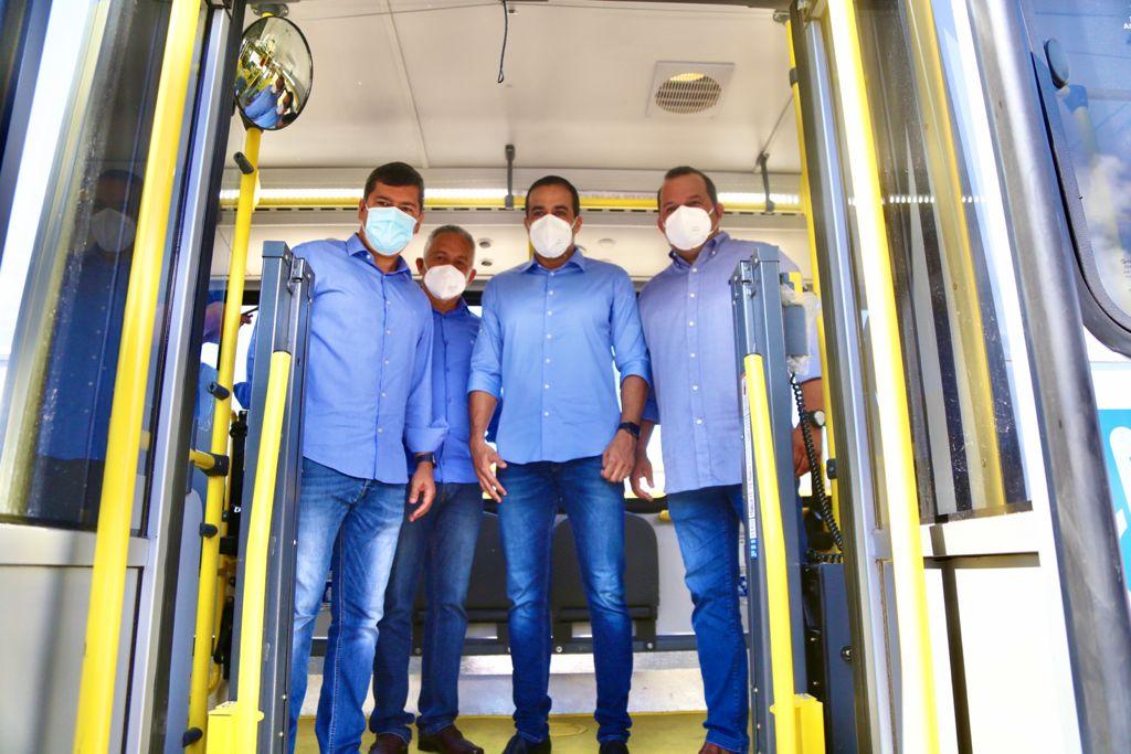 Frota de Salvador ganha mais 70 ônibus com ar-condicionado