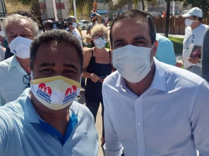 Após pedido de Guerrilha, Prefeitura inicia vacinação contra Covid-19 em escolas municipais