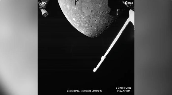 Missão espacial euro-japonesa faz primeiro sobrevoo em Mercúrio