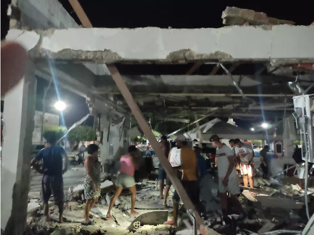 Bandidos explodem agência bancária em Chorrochó