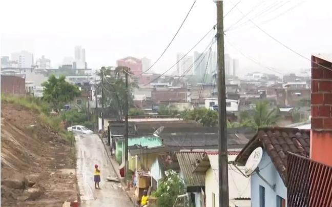 Itabuna tem quase 50 áreas com risco de deslizamento de terra