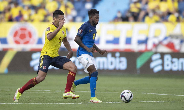 Brasil empata sem gols com a Colômbia pelas Eliminatórias